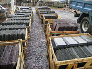Slate orders waiting delivery
